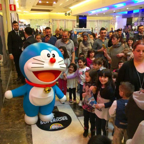 evento-con-Doraemon-al-centro-commerciale-5