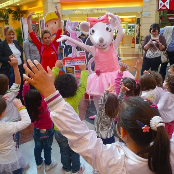 evento-concorso-cartoni-Angelina-Ballerina-centro-commerciale-1