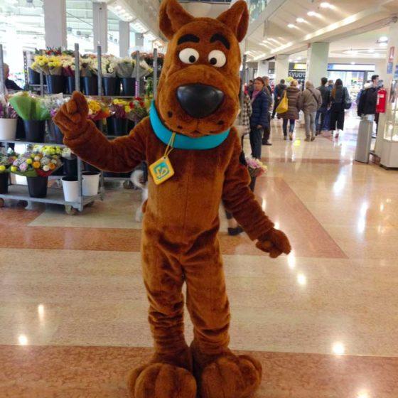 organizzazione-eventi-con-personaggio-Scooby-Doo-nei-centri-commerciali